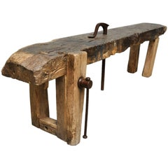 Oak Worktable, 1880s