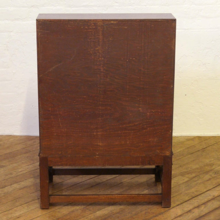 Oak Writing Bureau For Sale 8