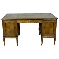 Oaken Desk from the Interwar Period