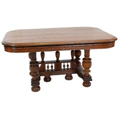 Oakwood Henry Deux Couch Table from France, circa 1880