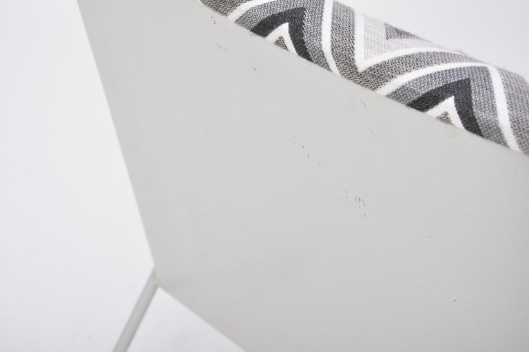 Oase Chair in Black and White Pattern by Wim Rietveld for Ahrend de Cirkel 8