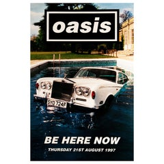 Oasis 'Be Here Now' Original UK Album Promo Poster, 1997