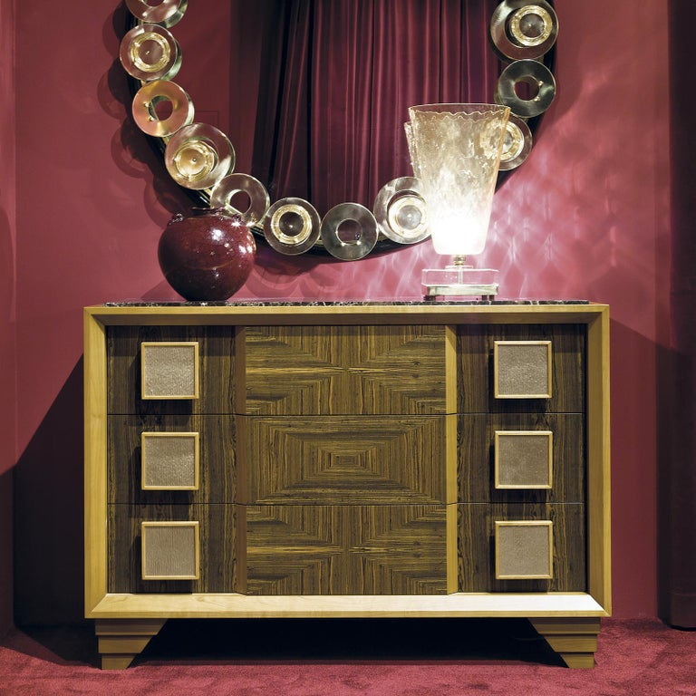 Modern Oasis Chest of Drawers by Chiara Provasi For Sale