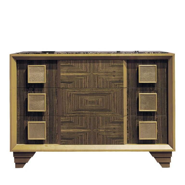 Italian Oasis Chest of Drawers by Chiara Provasi For Sale