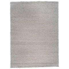 Oatmeal Braided Wool Area Rug