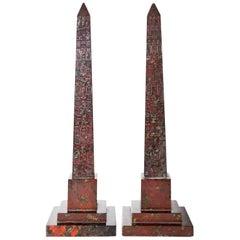 Obelisks, England 19th Century