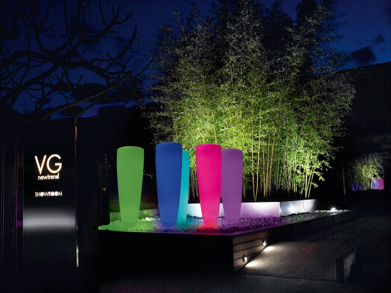 Resin Obice Big Lamp, LDPE, Led RGB kit, Indoor/Outdoor, Italy For Sale