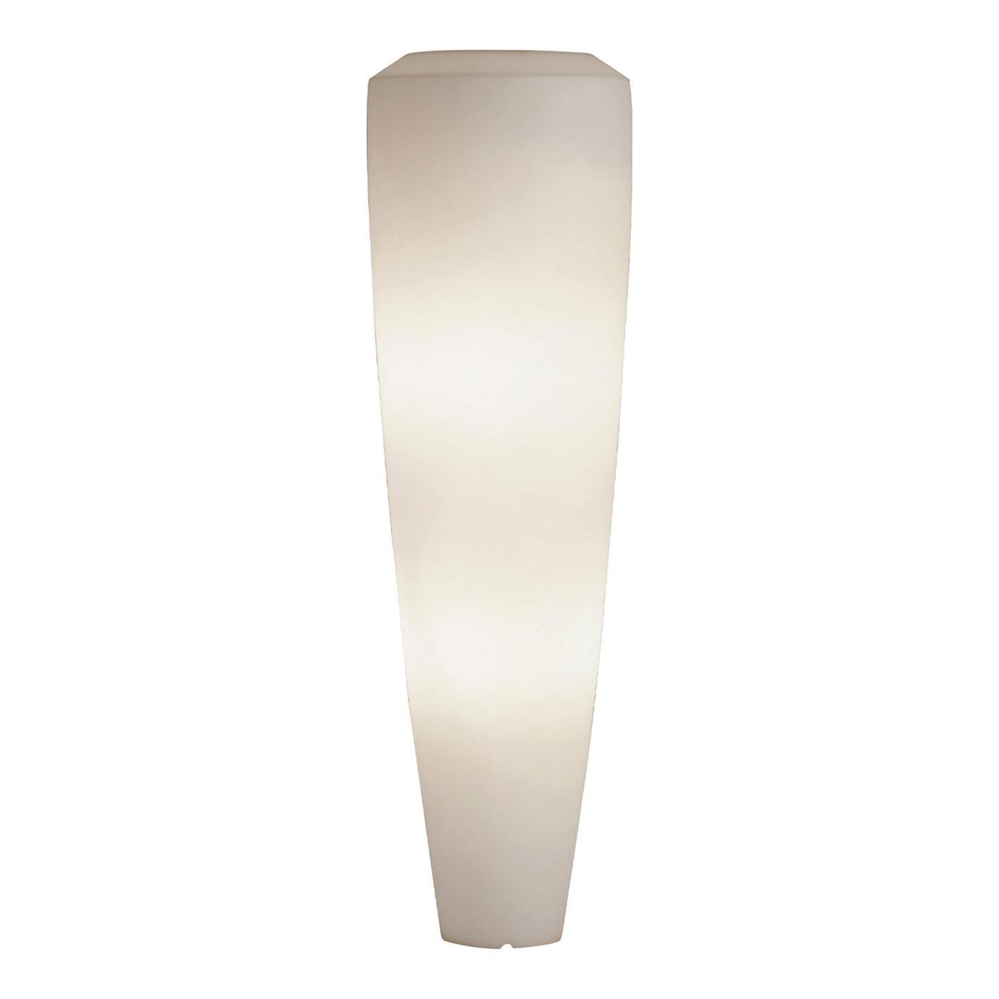 Obice Large White Floor Lamp