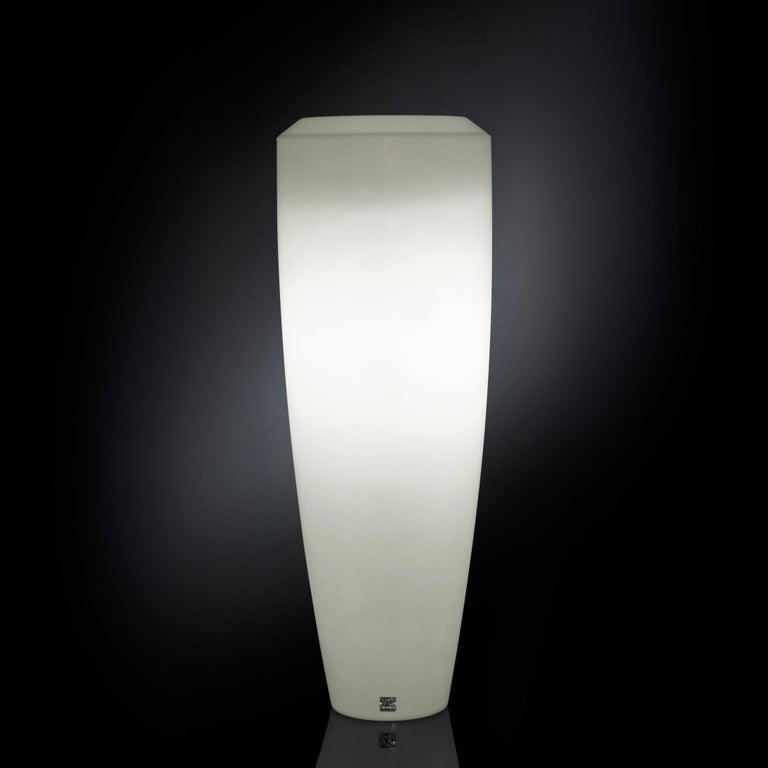 Italian Obice Small Lamp, Ldpe, Fluorescent Kit, Indoor or Outdoor, Italy For Sale