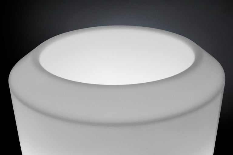 Molded Obice Small Lamp, Ldpe, Fluorescent Kit, Indoor or Outdoor, Italy For Sale