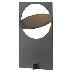 OBJ-01 Stainless Steel Table Lamp by Manu Bano