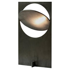 OBJ-01 Steel Table Lamp by Manu Bano