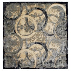 Oblique Modern Abstract Rug