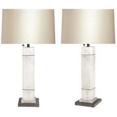 OCC Rock Crystal Quartz Lamps by Phoenix