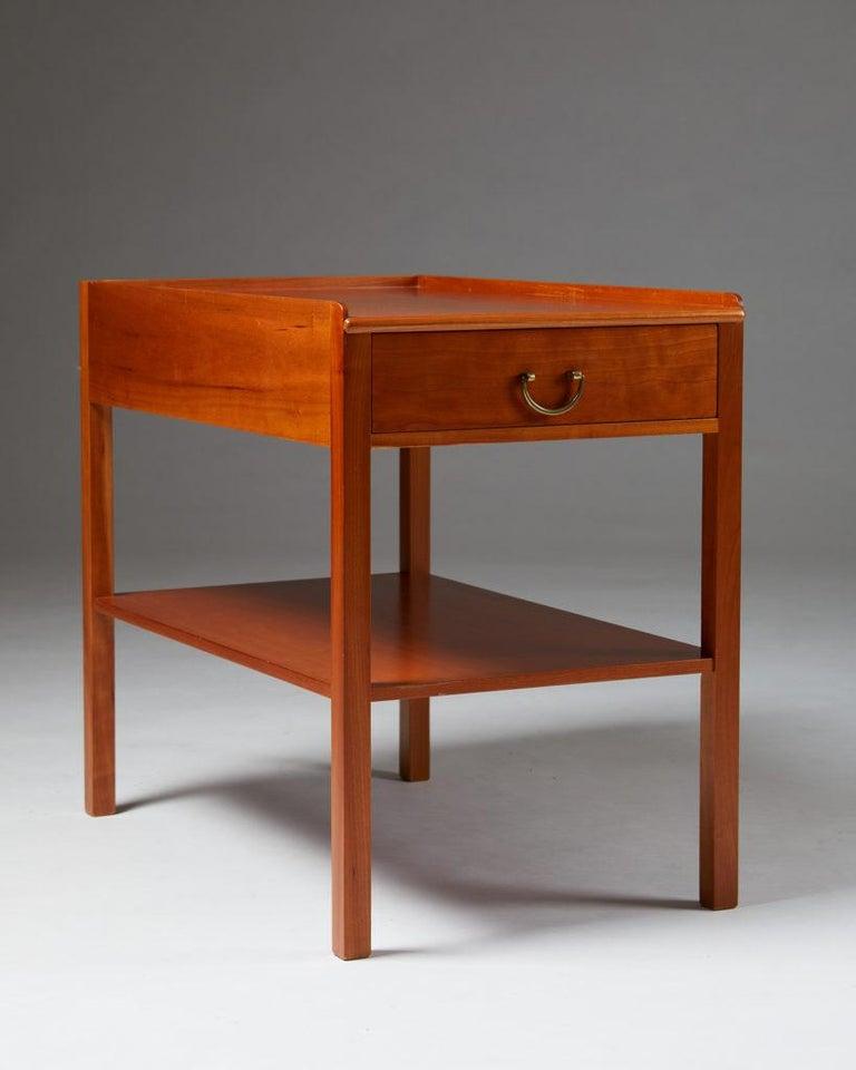 Swedish Occasional/Bedside Table Model 914 Designed by Josef Frank for Svenskt Tenn For Sale