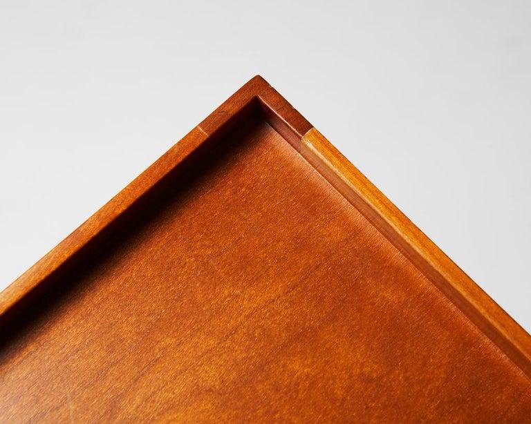 Brass Occasional/Bedside Table Model 914 Designed by Josef Frank for Svenskt Tenn For Sale