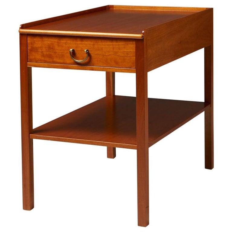 Occasional/Bedside Table Model 914 Designed by Josef Frank for Svenskt Tenn For Sale
