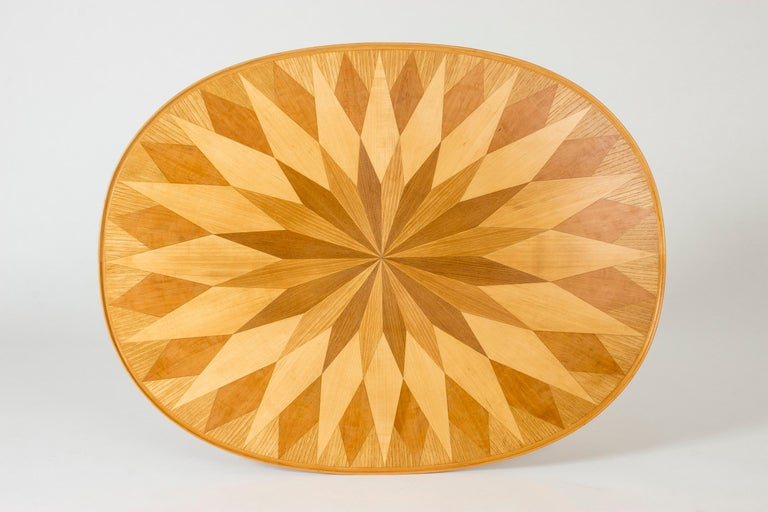 Scandinavian Modern Occasional/Coffee Table by Carl-Axel Acking for Torsten Schollin, Sweden, 1950s For Sale