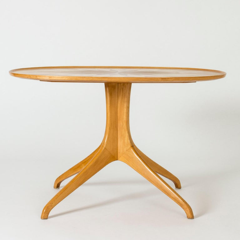 Swedish Occasional/Coffee Table by Carl-Axel Acking for Torsten Schollin, Sweden, 1950s For Sale