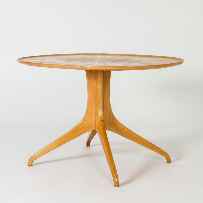 Occasional/Coffee Table by Carl-Axel Acking for Torsten Schollin, Sweden, 1950s In Good Condition For Sale In Stockholm, SE