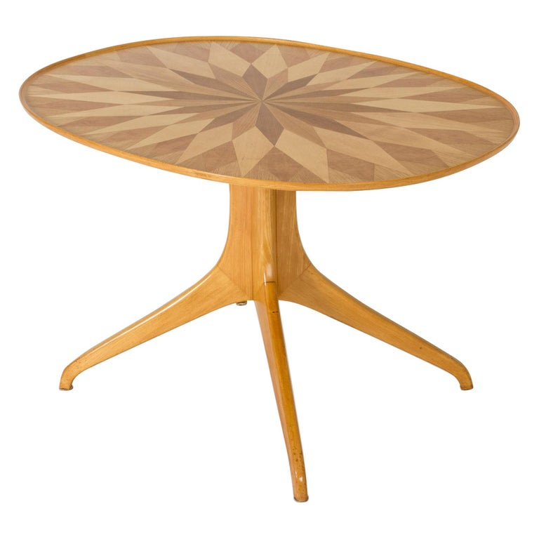 Occasional/Coffee Table by Carl-Axel Acking for Torsten Schollin, Sweden, 1950s For Sale