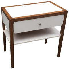 Occasional Furniture in Mahogany and Formica, circa 1970