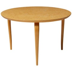 Occasional table Annika designed by Bruno Mathsson for Karl Mathsson