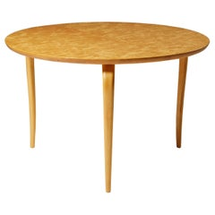 Occasional Table Annika Designed by Bruno Mathsson for Karl Mathsson, Sweden