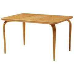Occasional Table Annika Designed by Bruno Mathsson, Sweden, 1950s
