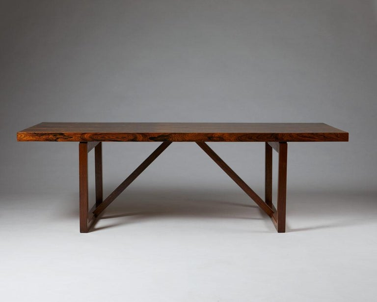 Mid-Century Modern Occasional Table, Anonymous, Denmark, 1960s For Sale