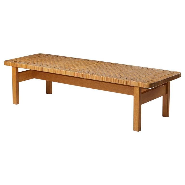 Occasional Table/Bench Model 5272 Designed by Börge Mogensen, Denmark, 1950s For Sale