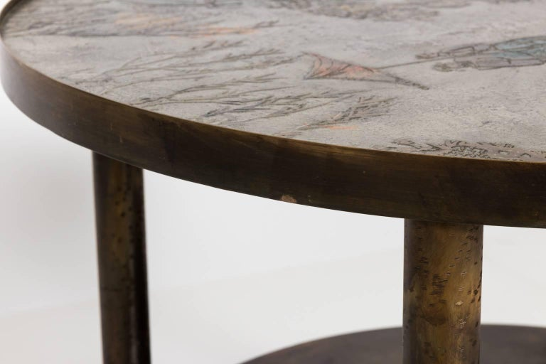 Occasional Table by Philip LaVerne and Kelvin LaVerne For Sale 5