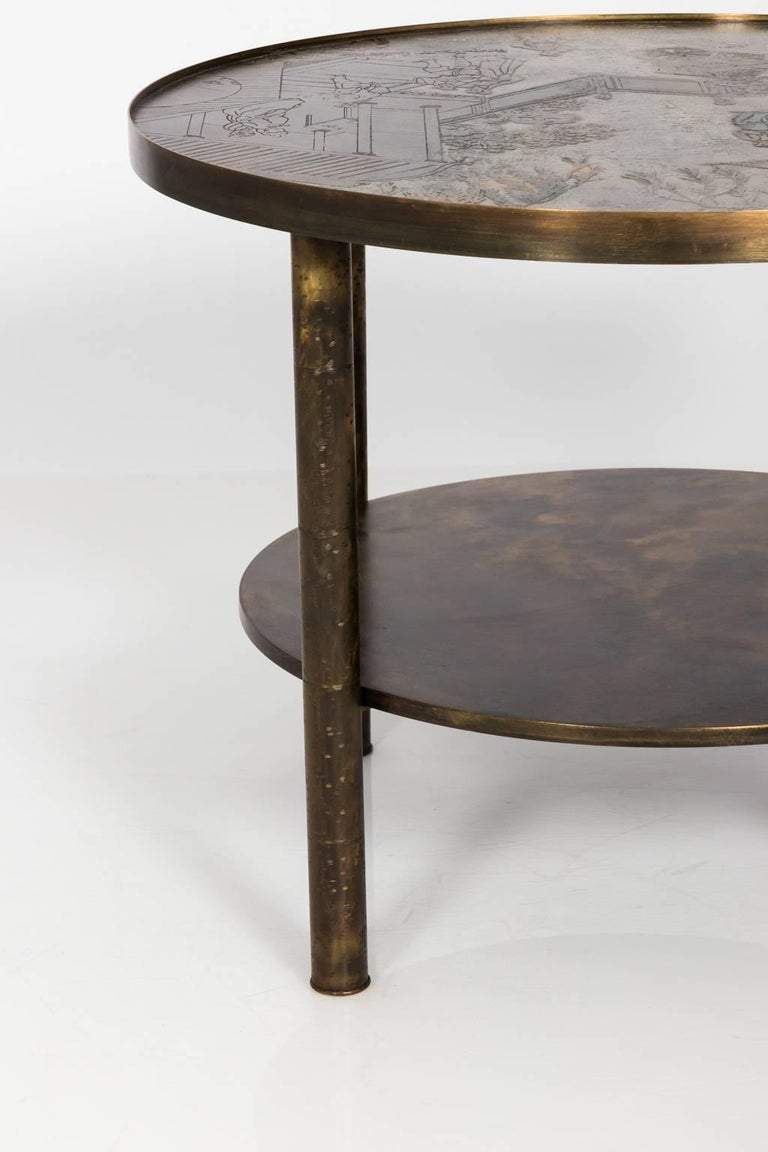 Mid-Century Modern Occasional Table by Philip LaVerne and Kelvin LaVerne For Sale