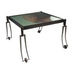 Occasional Table, Designed by Alf Linder for Källemo, Sweden, 1995
