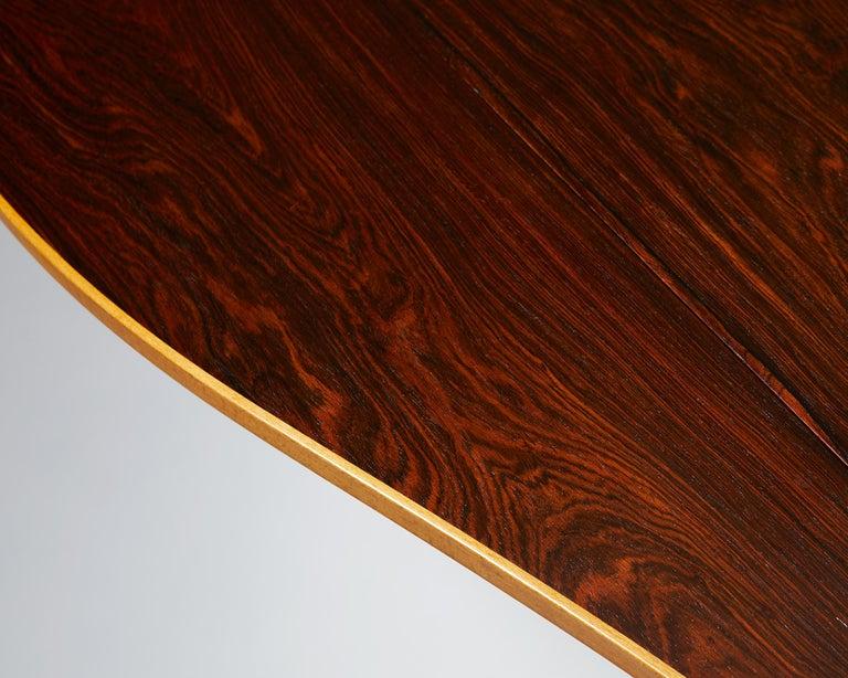 Occasional Table Designed by Finn Juhl for Bovirke, Denmark, 1940s For Sale 4