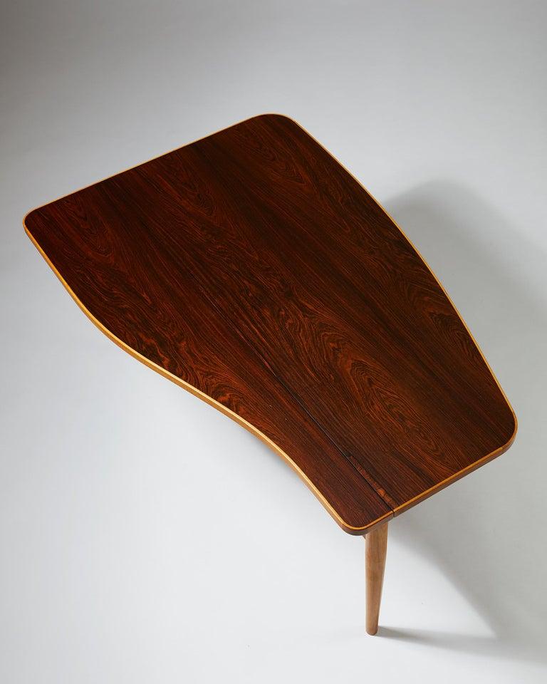 Danish Occasional Table Designed by Finn Juhl for Bovirke, Denmark, 1940s For Sale