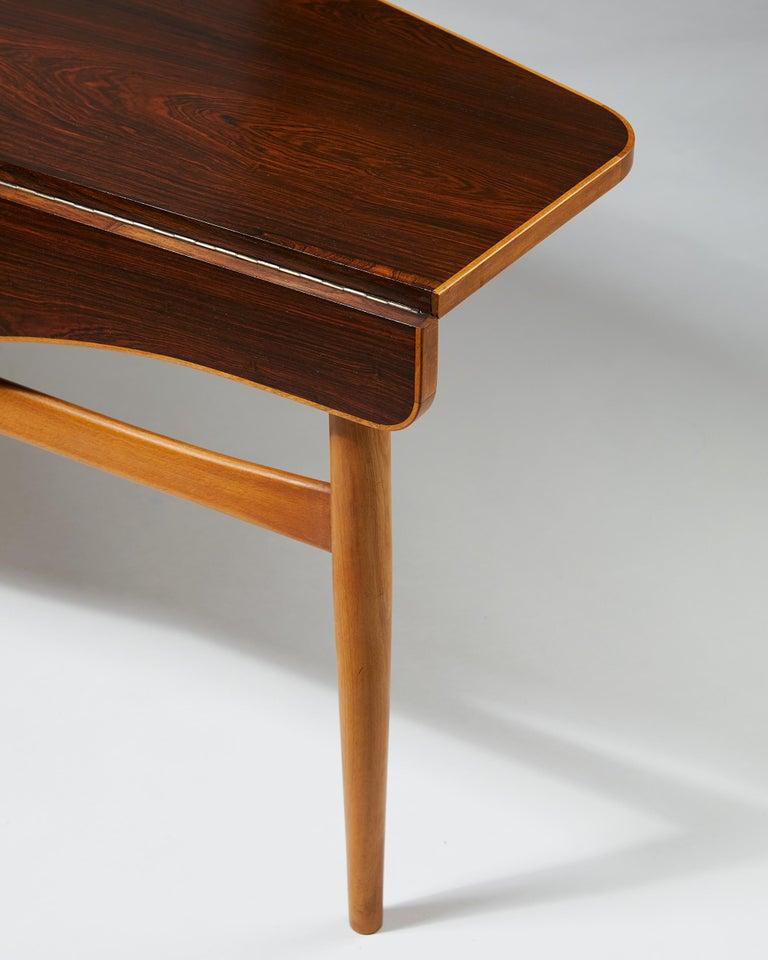 Occasional Table Designed by Finn Juhl for Bovirke, Denmark, 1940s For Sale 2