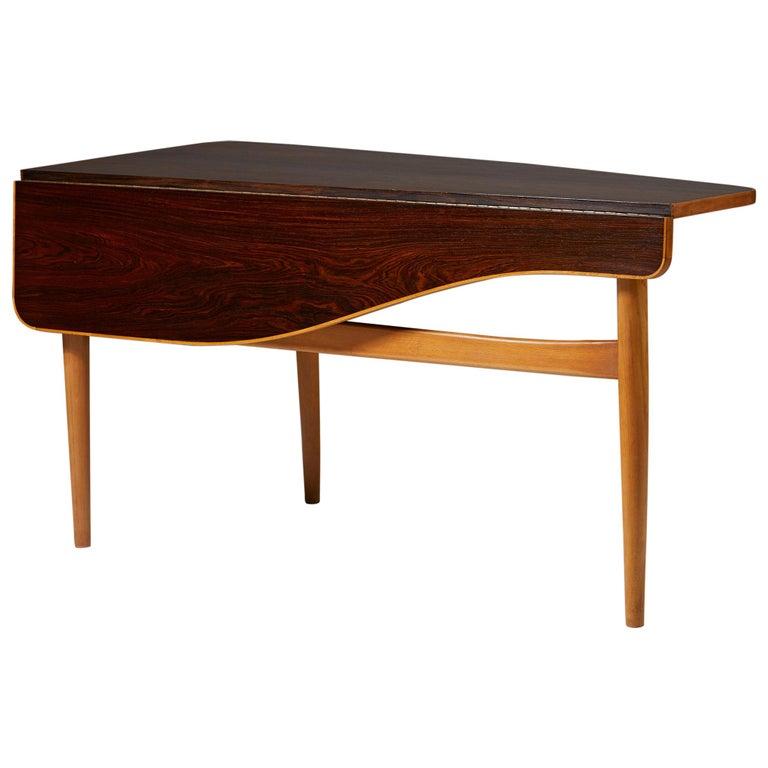 Occasional Table Designed by Finn Juhl for Bovirke, Denmark, 1940s For Sale