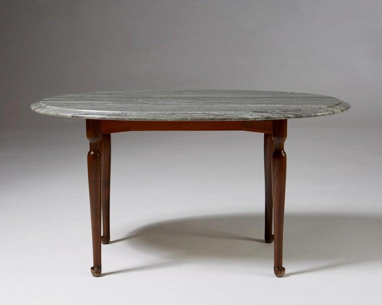 Scandinavian Modern Occasional Table Designed by Josef Frank for Svenskt Tenn, Sweden, 1939 For Sale