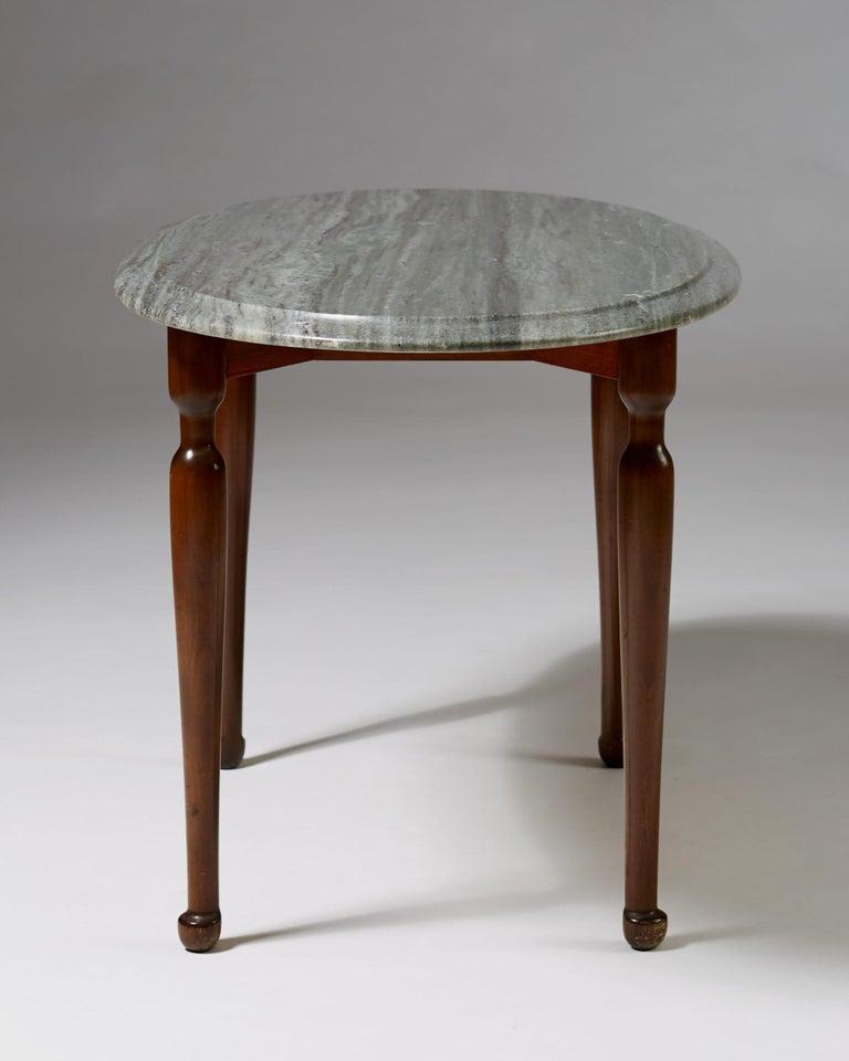 Swedish Occasional Table Designed by Josef Frank for Svenskt Tenn, Sweden, 1939 For Sale