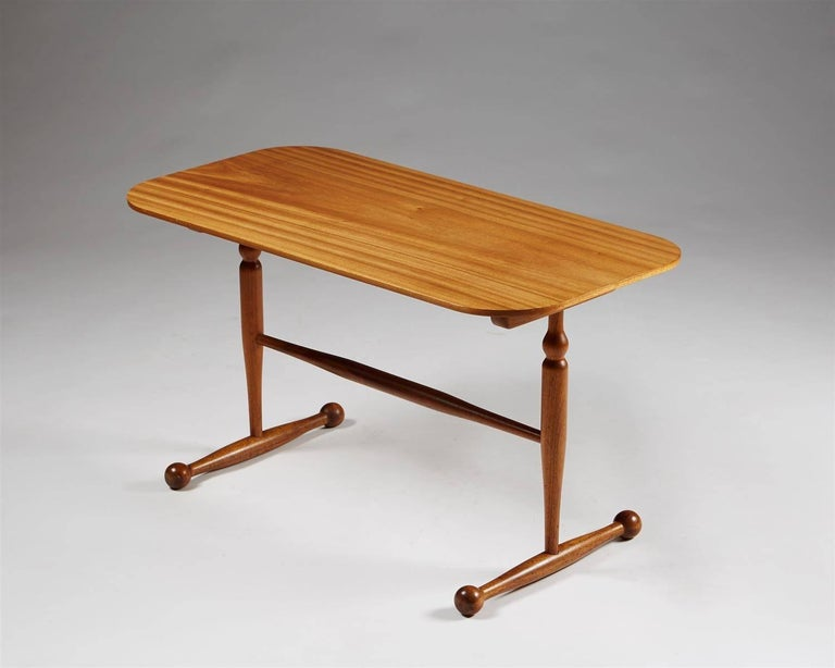 Occasional table designed by Josef Frank for Svenskt Tenn,