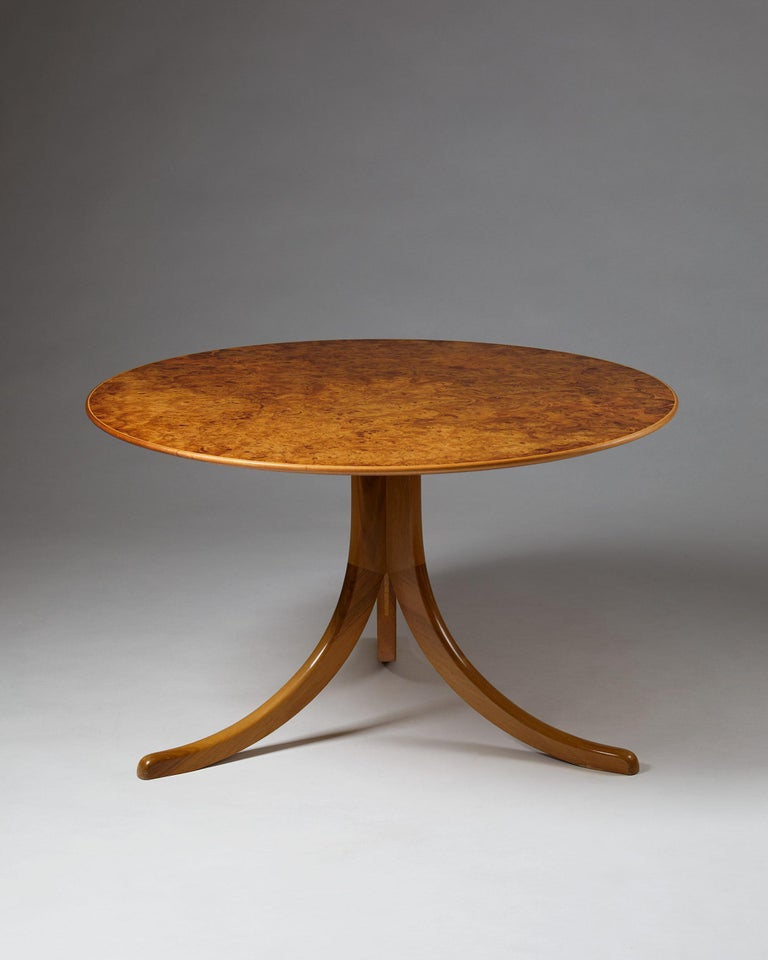 Mid-Century Modern Occasional Table Designed by Josef Frank for Svenskt Tenn, Sweden, 1950s For Sale
