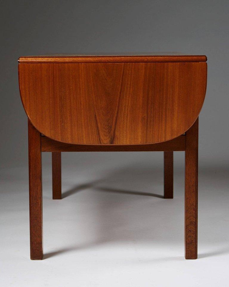 Scandinavian Modern Occasional Table Designed by Josef Frank for Svenskt Tenn, Sweden, 1950s For Sale