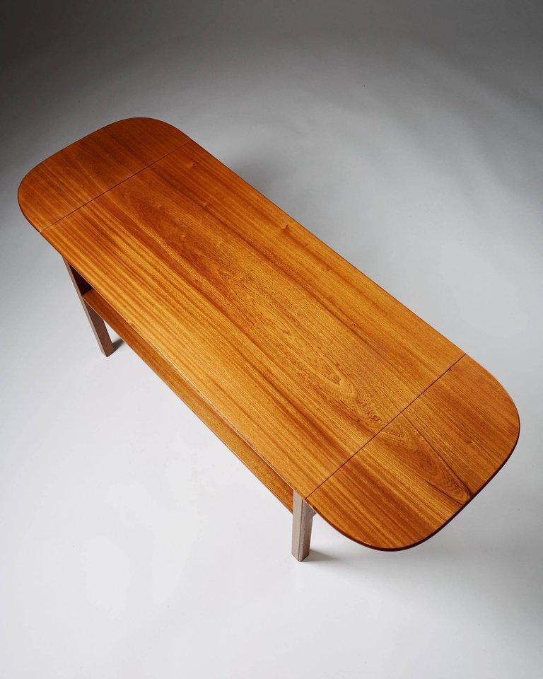 Swedish Occasional Table Designed by Josef Frank for Svenskt Tenn, Sweden, 1950s For Sale