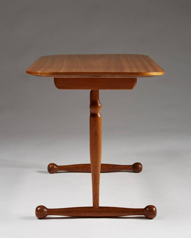 Swedish Occasional Table Designed by Josef Frank for Svenskt Tenn, Sweden, 1950s For Sale