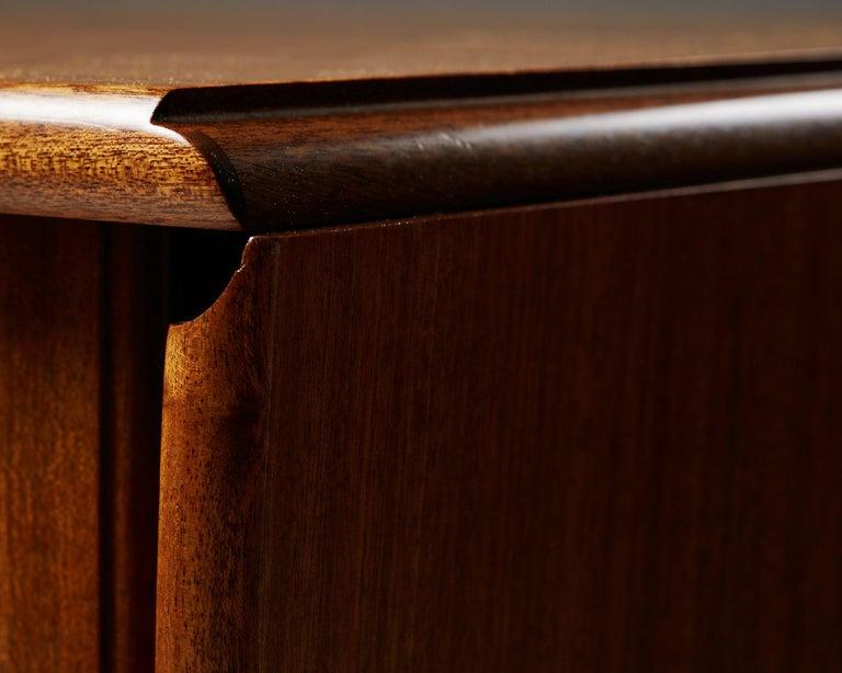 Mahogany Occasional Table Designed by Josef Frank for Svenskt Tenn, Sweden, 1950s For Sale
