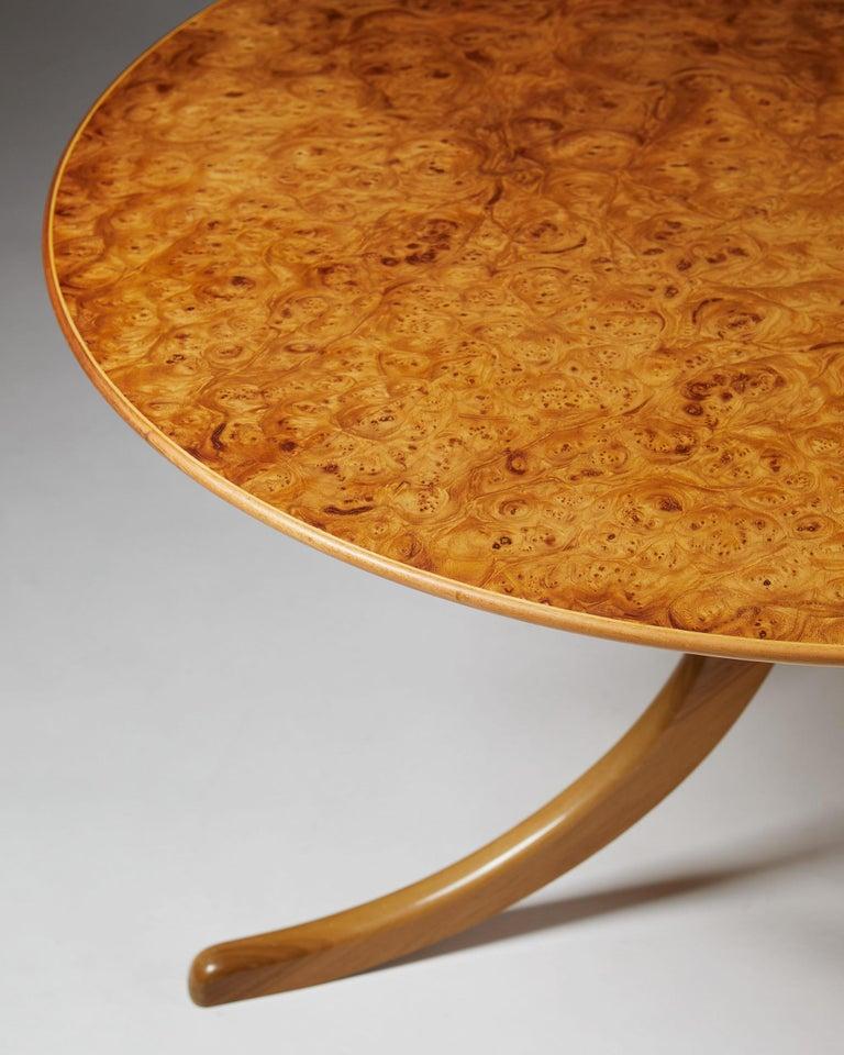Occasional Table Designed by Josef Frank for Svenskt Tenn, Sweden, 1950s For Sale 1