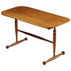 Occasional Table Designed by Josef Frank for Svenskt Tenn, Sweden, 1950s
