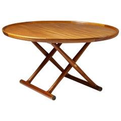 """Occasional Table """"Egyptian Table"""" Designed by Mogens Lassen, Denmark, 1940s"""