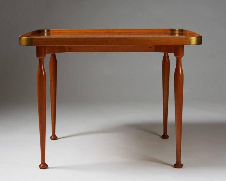 Scandinavian Modern Occasional Table Model 1074 Designed by Josef Frank for Svenskt Tenn, Sweden For Sale